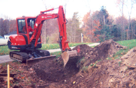 Mini or Light Excavating NH hardscape & landscape services