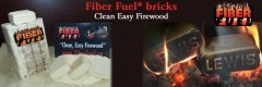 Pelham, NH Fiber Fuel® Clean Easy Firewood