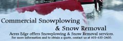 Commercial Snowplowing & Snow Removal Services, Pelham, NH