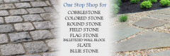 Pelham, NH Cobblestone, Colored Stone, Round Stone, Field Stone, Flag Stone, Palletized Wall Stone, Slate, Blue Stone