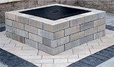 Unilock Lineo Dimensional Square Fire Pit Kit NH Landscape & Hardscape Supply, Landscaping & Hardscaping Supplies