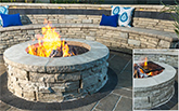 Unilock Rivercrest Fire Pit Kit NH Landscape & Hardscape Supply, Landscaping & Hardscaping Supplies