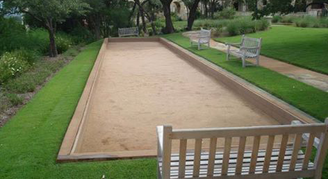 NH Bocce Ball Court Clay