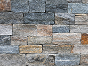 Fieldstone Veneer Natural Stone Veneer New England Blend Ashlar Pelham, NH