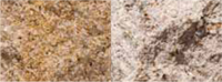 color variation golden wheat granite posts