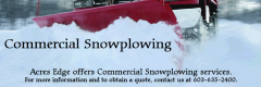 Pelham, NH Commercial Snowplowing & Snow Removal