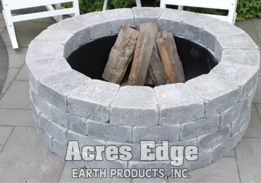 Unilock Brussels Sunset Round Fire Pit Kit NH Landscape & Hardscape Supply, Landscaping & Hardscaping Supplies