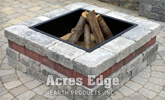 Unilock Brussels Dimensional Square Fire Pit Kit NH Landscape & Hardscape Supply, Landscaping & Hardscaping Supplies
