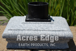 66 Cap Granite Light Post Cap with Mount Acres Edge, Pelham  NH Landscape & Hardscape Supply, Landscaping & Hardscaping Supplies