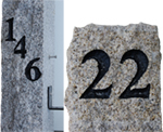 Granite Post Engraving Black Acres Edge, Pelham NH Landscape & Hardscape Supply, Landscaping & Hardscaping Supplies