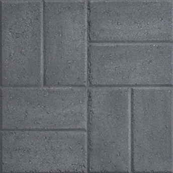 GardenStone Color Charcoal Garden Stone Patio Paver 18 x 18
