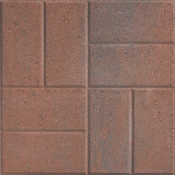 GardenStone Color Old Port Blend Garden Stone Patio Paver 18 x 18