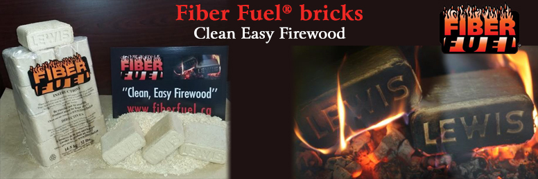 Fiber Fuel Bricks