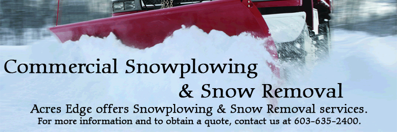 Southern NH Commercial Snow Removal & Snow Plowing